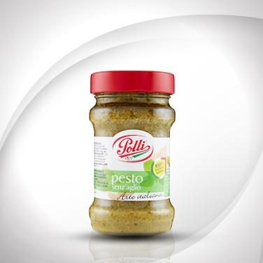 Pesto al basilico senz'aglio Polli