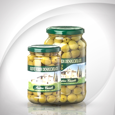 Olive verde denocciolate Antico Casale