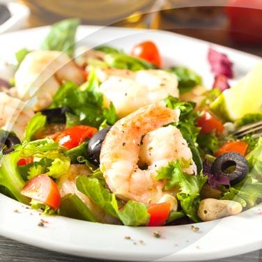 Macedonia di verdure con pescato
