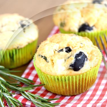 Muffin alle olive nere
