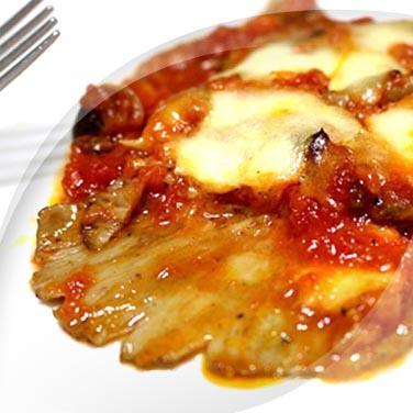 Gamberoni con salsa e cetriolini